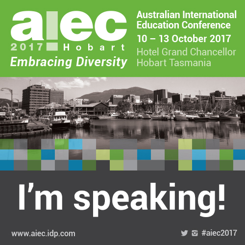 AIEC 2017 I'm Speaking 500x500px