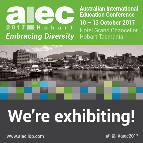 AIEC 2017 We're exhibiting 500x500px
